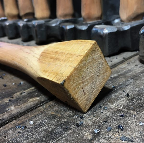 Pecan hammer handle - Top Detail