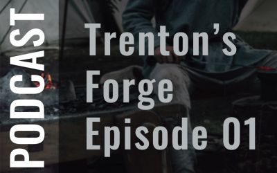 "Trenton's Forge Ep01 ""Getting Started in Blacksmithing"""